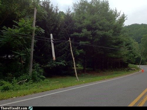 Extreme Makeover: Telephone Pole Edition