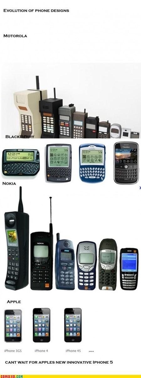apple,best of week,blackberry,innovation,iphone 4s,motorola,nokia,phones,the internets