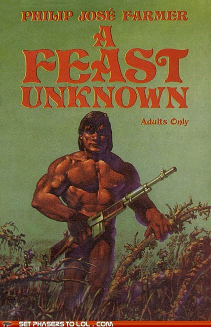 WTF Fantasy Book Covers: A Feast Unknown