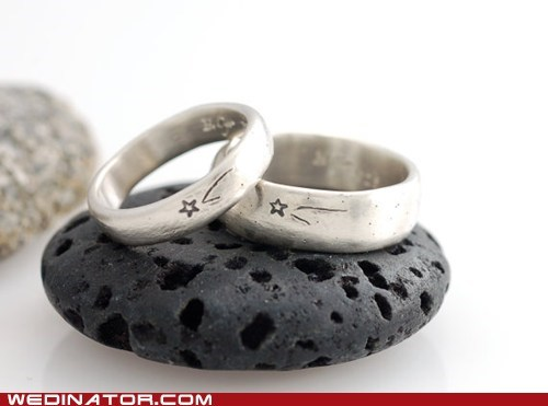 engagement rings,etsy,funny wedding photos,stars,wedding rings