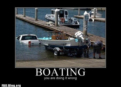 Boating FAIL
