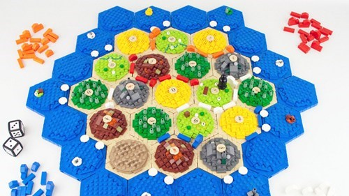 LEGO Catan Board of the Day
