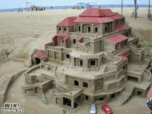 Awesome Sand Castle WIN