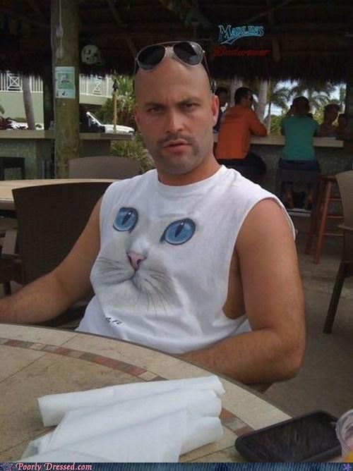 cat,creepy,kitschy,shirt,weird