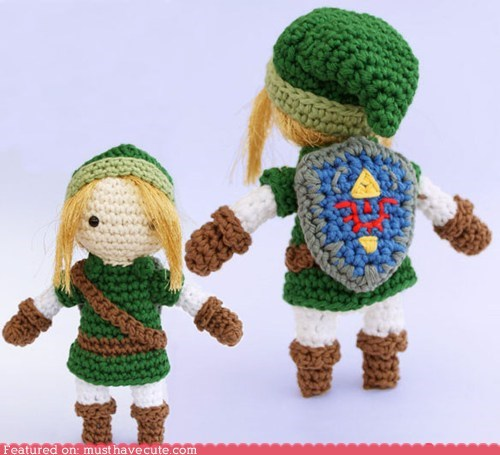 Legend of Zelda Link Amigurumi