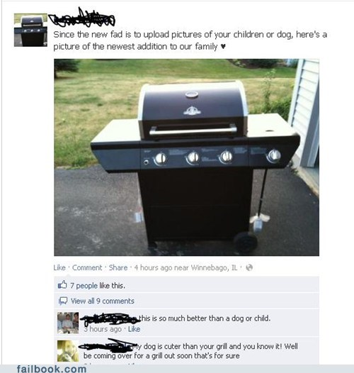 Congratulations!  It's a Grill!