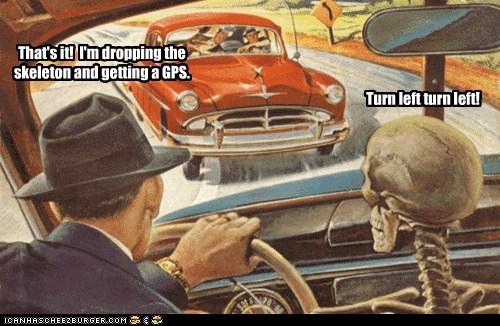 Turn left turn left!