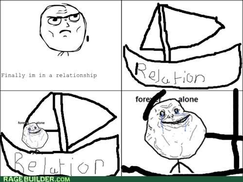 Lame Pun Forever Alone Guy