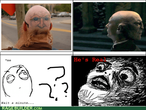 Voldemort's Back