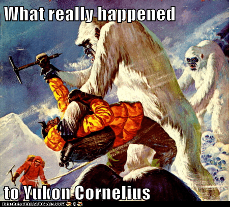 What really happened  to Yukon Cornelius