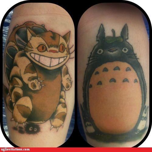 Totoro and Catbus WIN!