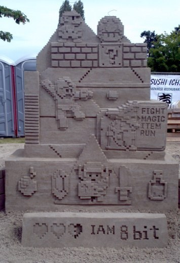 Nerdy Sand Sculptures of the Day