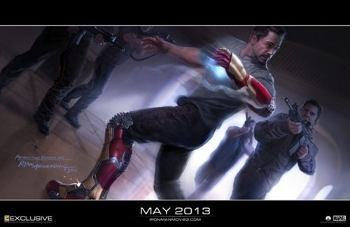 Iron Man 3 Art of the Day