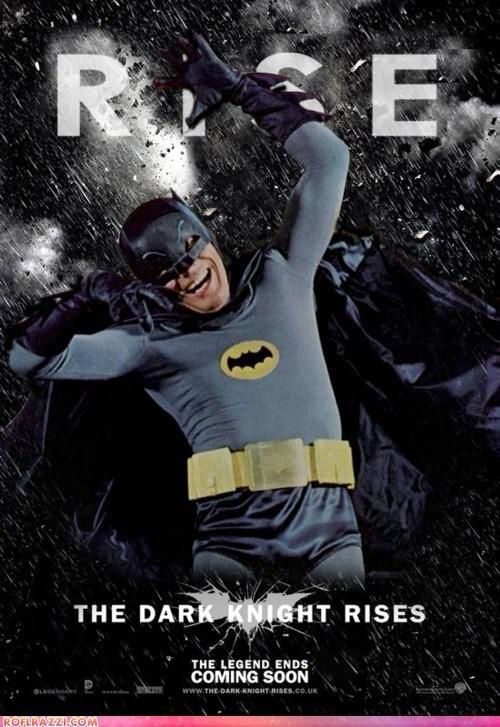 Adam West,batman,funny,Hall of Fame,Movie,poster,shoop,summer blockbusters,the dark knight rises