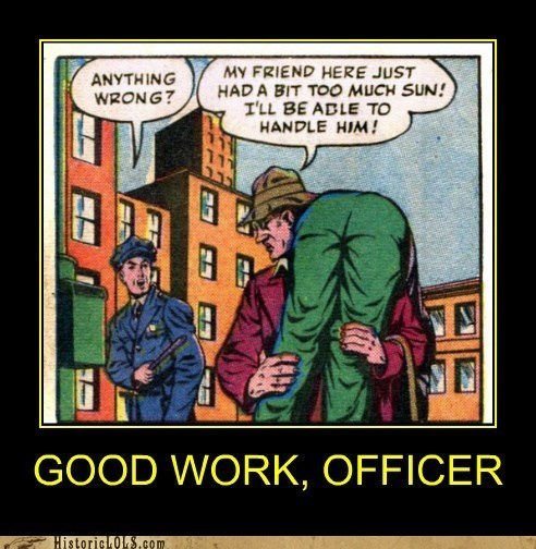 comic,oblivious,panel,police
