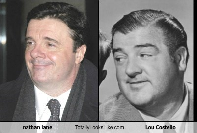 Nathan Lane Totally Looks Like Lou Costello
