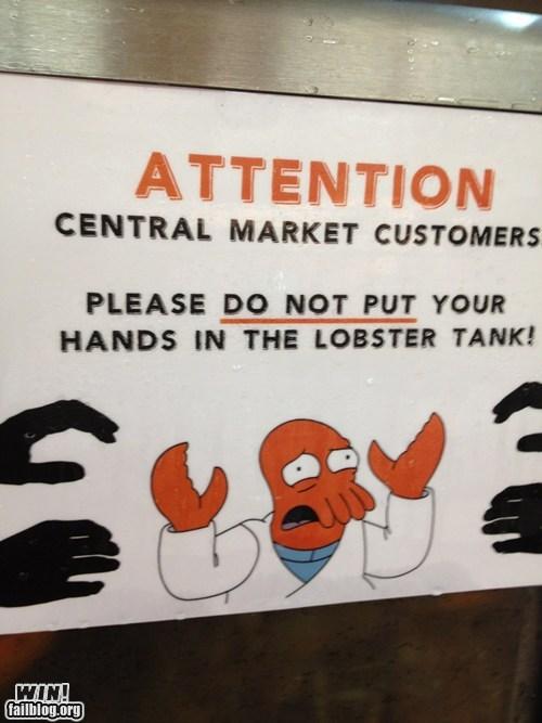 Lobster Tank WIN
