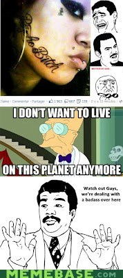 i don't want live on this planet anymore