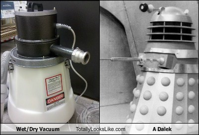 Wet/Dry Vacuum Totally Looks Like A Dalek (Doctor Who)
