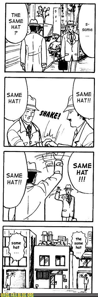 Bros: POSSESSING OF THE SAME HAT, THE TWO BECAME INSTA-BROS