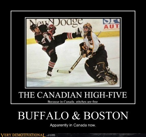BUFFALO & BOSTON