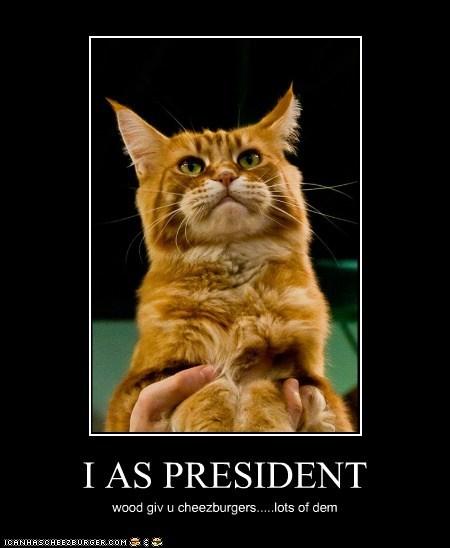 I AS PRESIDENT