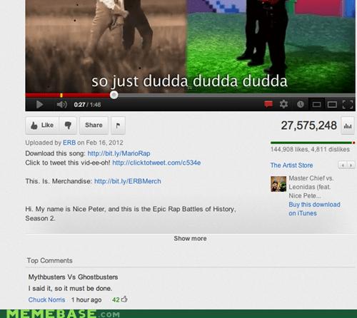 chuck norris,commenter,erb,youtube