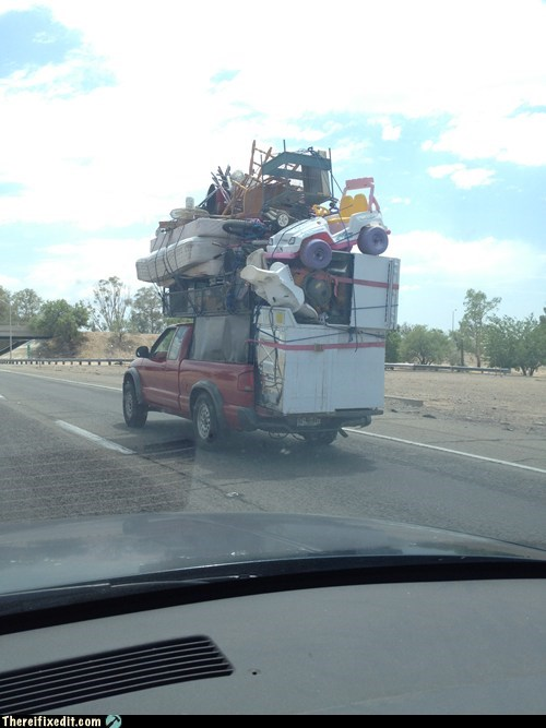 There I Fixed It: Oversize Loads: Road Jenga