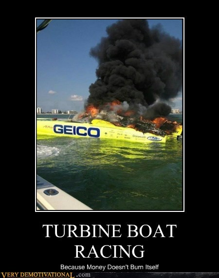 TURBINE BOAT RACING