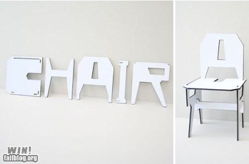 Chair WIN!
