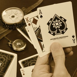 Steampunk Animated Playing Cards of the Day