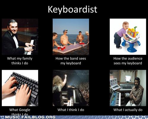 keyboard,keyboardist,what people think i do