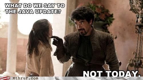 Good! And What Do We Say to Windows Updates?