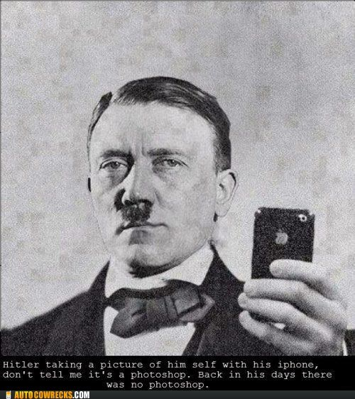 bros,checkmate,hitler,iphone,photoshop,self poortraits