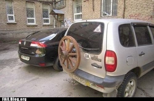 FAIL Nation: Spare Tire FAIL