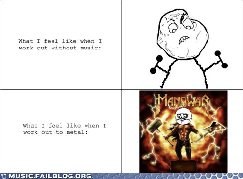 As Metal As My Abs
