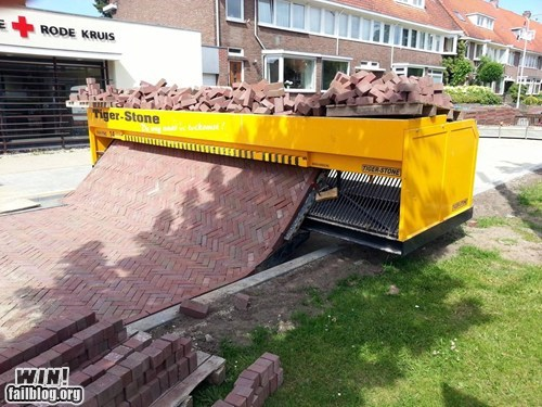 Brick Road Making Machine WIN!