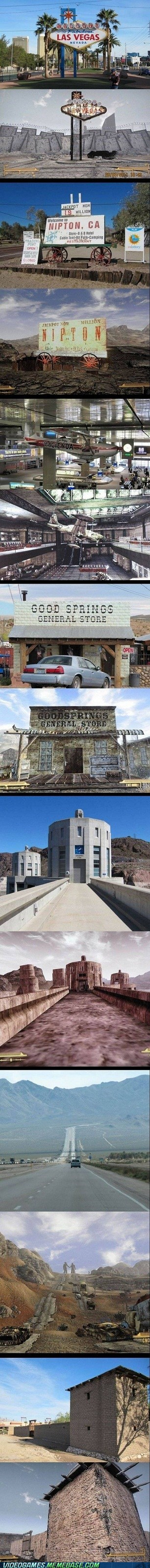 Video Games: Fallout: Actual Vegas