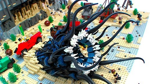 Lovecraftian LEGOs of the Day