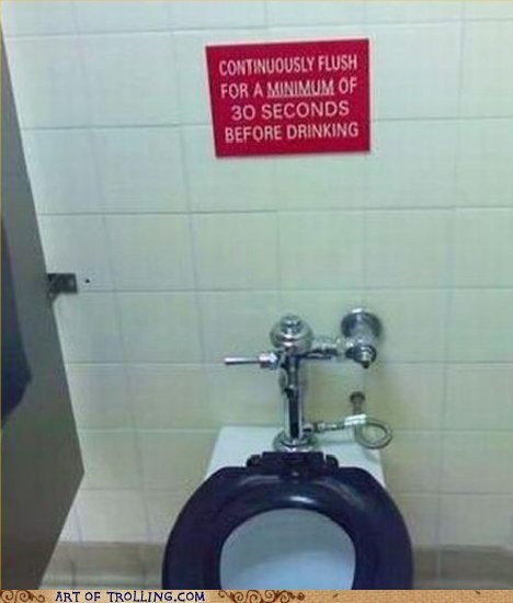 If It's Brown, Flush It Down