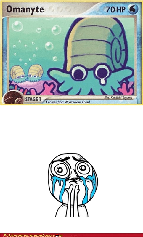 Omanyte is Forever Alone