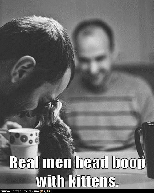 best of the week,boop,boops,captions,Cats,friend,head boop,lolcat,lolcats,love,man,men,real men,sweet