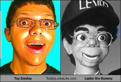 Tay Zonday Totally Looks Like Lester the Dummy