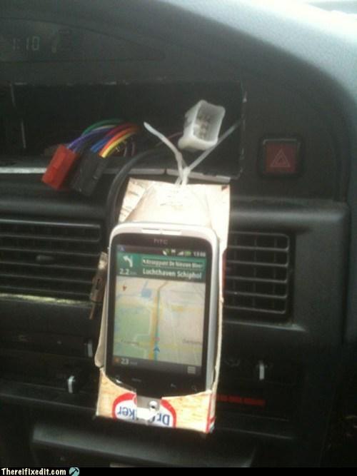 Creative Phone Caddy