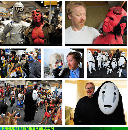 adam savage,celeb,conventions,cosplay