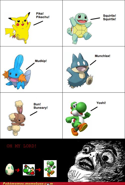 comic,evolution,mario,Pokémon,shiny,yoshi