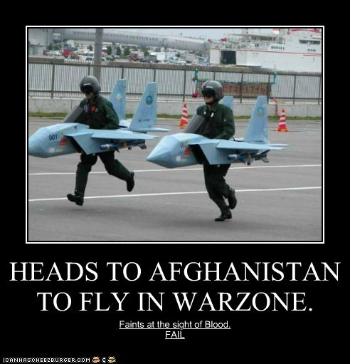 HEADS TO AFGHANISTAN TO FLY IN WARZONE.