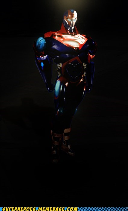 The Superman Battle Suit