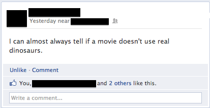 Failbook: Usually I Can Tell Because Pixels