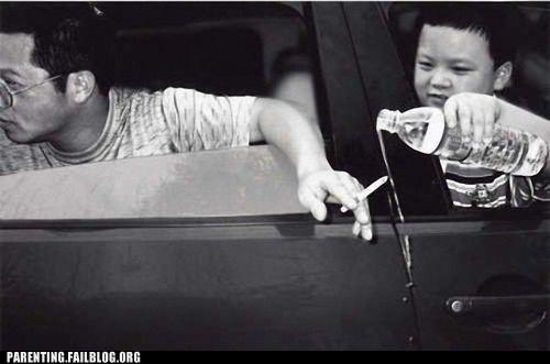 car windows,cigarrette,smoking,water